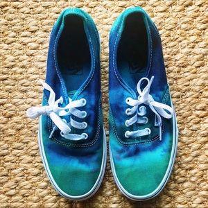 OOAK Tie Dyed Vans